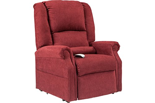 NM-101 Windermere Mega Motion Ultimate Power Lift Recliner Infinite Position Lay Flat and Zero Gravity Recliner. Duo Motors. Control Foot Rest & Back Separately. Ext Length. 77'(Burgungy)