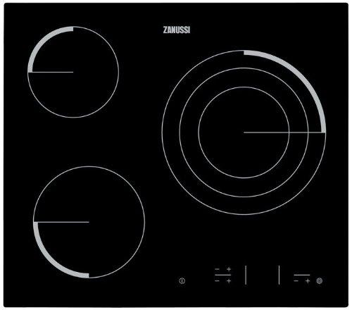 Zanussi Z6123IOK | Placa Vitrocerámica Z6123Iok Con 3 Zonas Hi-Light
