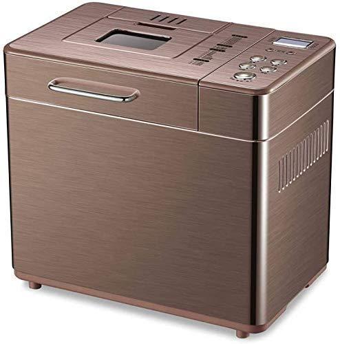 GJJSZ Máquina de Pan doméstica pequeña automática para Hacer Pan,Mezclador de Masa Completamente automático con Cita de 15 Horas,menú de 19 Elementos,máquina de Pan de fermentación Multifuncional.