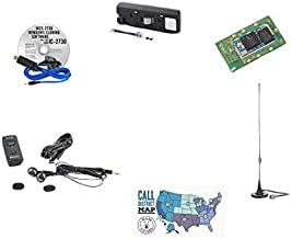 Icom 2730A Deluxe Accessory Pack Bundle - - Programming Software/Cable - Comet M24M Mag Mount Antenna - Icom Bluetooth Headset - Icom UT133 Bluetooth Module - Icom MBA4 Head Bracket and Ham Guides Pocket Reference Card Bundle!