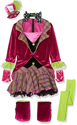 Christy's - Costume da cappellaio matto, per ragazze, L (16 anni)