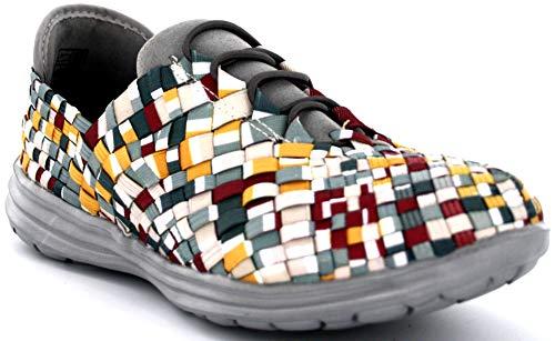 B M BERNIE MEV NEW YORK Victoria Casual Zapatillas Deportivos para Mujer
