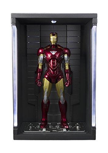 Bandai Iron Man 53291-Iron Mark VI Hall of Armor Set-Sh Figuarts-Action Figure, 15 cm, 14345