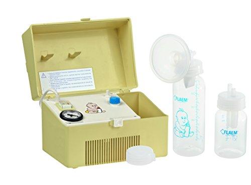 Flaem Baby P400P00 elektrische melkopschuimer, geel