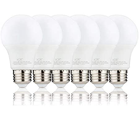 60w Equivalent A19 Led Light Bulb Soft White 2700k E26 Standard Base Ul Listed Non Dimmable Led Light Bulb 15000 Hrs 4 Pack