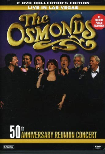 The Osmonds Live in Las Vegas 50th Anniversary 2 DVD Collector's Edition