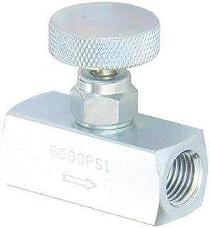 NV Series 1//4 Mini Needle Valve PIC Gauges NV-CS-1//4-HS-180-MXF Pack of 10 pcs