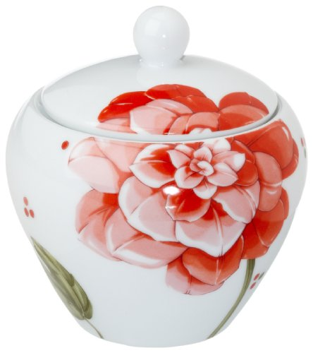 Hutschenreuther Zuckerdose für 6 Pers, Form: Eve, Pink Lady.