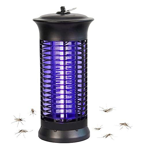 SRHNXW Lámpara Antimosquitos Eléctrico,UV 6W,Matar Mosquitos, Moscas, Polillas, para Exterior y Interior,Eu/220v