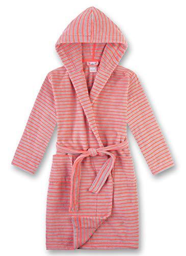 Sanetta Mädchen Morningcoat Bademantel, Rosa (Neon Peach 3993), (Herstellergröße: 116)