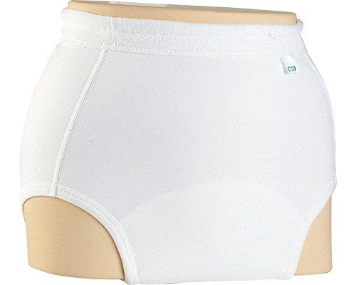 ソフト防水パンツ(男女共用) 3L ホワイト 3076 (エンゼル) (返品不可)