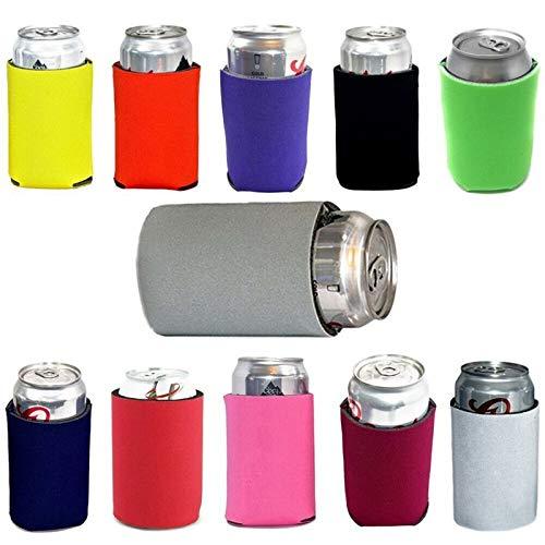 CHUJIAN 1 PCS Neopreno de refrigeración de Cerveza Puede Cubrir Bebidas Botella de estaño más Fresco de la Manga del sostenedor de Herramientas al Aire Libre (Color : Rojo)