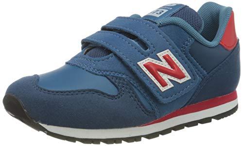 New Balance 373 YV373KNR Medium, Scarpe da Ginnastica Bambino, Blue (Dark Blue KNR), 33