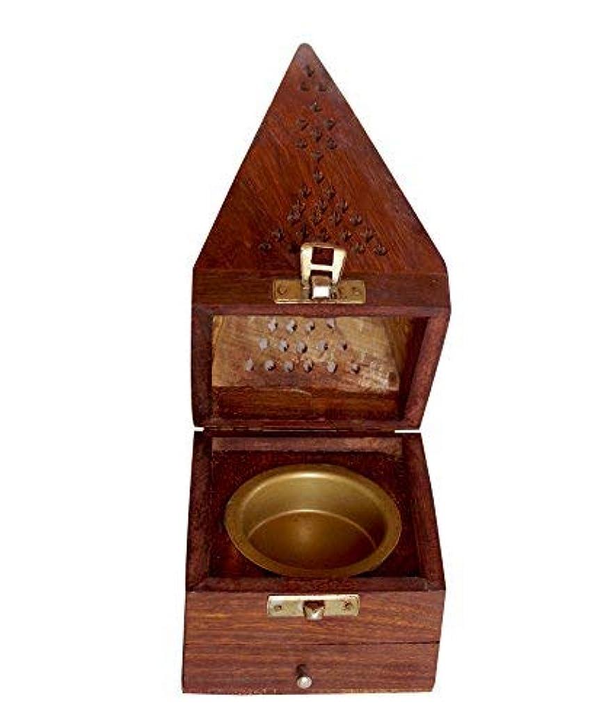 恥ずかしさアイロニー瞬時にクリスマスギフト木製円錐Incense Burner AshキャッチャーHome Fragranceアクセサリー