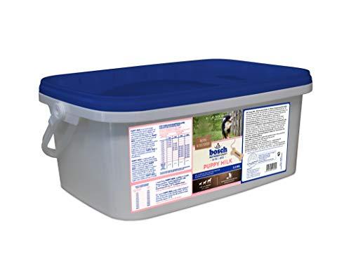 bosch HPC Puppy Milk | Milchersatzpulver zur mutterlosen Aufzucht von Welpen | zum schonender Übergang von Muttermilch zur festen Nahrung | 2 kg Nachfüllbeutel
