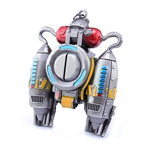 Mankecheng - Mochila cohete de juguete, réplica de metal, figura de acción, para colección o regalo