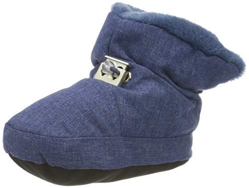 Sterntaler Jungen Baby-schuh_5101832 Stiefel, Blau (Tintenblau Mel. 376), 21/22 EU