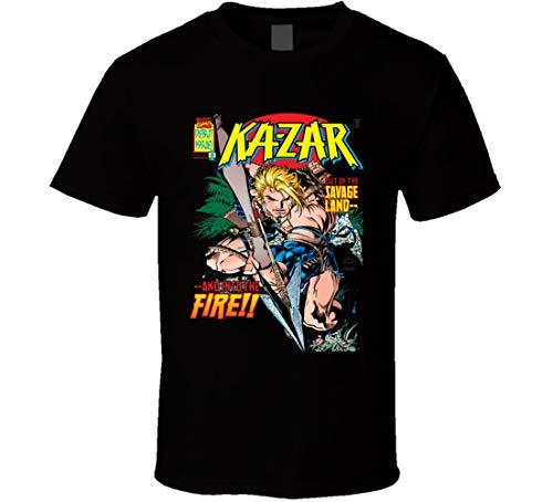 XUANYI Ka-zar Superhero cómic Fan regalo camiseta negro