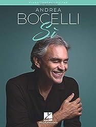 Andrea Bocelli - Si: Piano - Vocal - Guitar