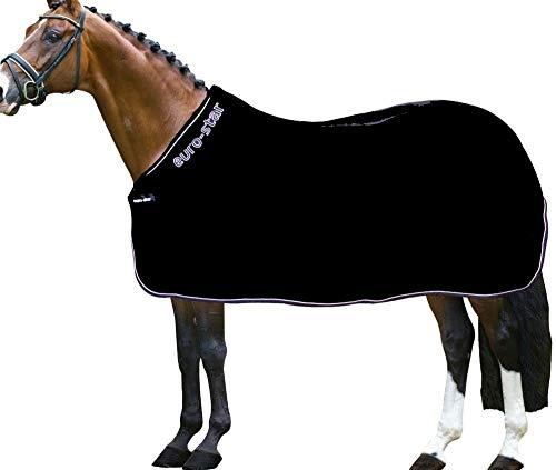 Euro-Star Abschwitzdecke Pure black S