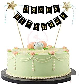 Party Propz Happy Birthday Cake Topper for Birthday Parties/Birthday Decoration Items