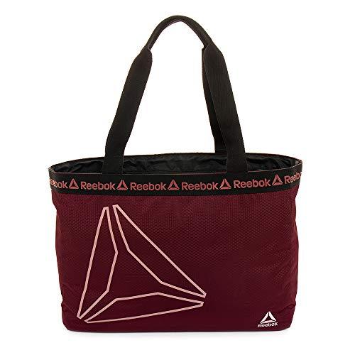 Tote Bag, Reebok Studio Series Bijou Tote Bag (Rustic Wine)