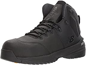 New Balance Men's Composite Toe 989 V1 Industrial Shoe, Black/Black, 11 W US
