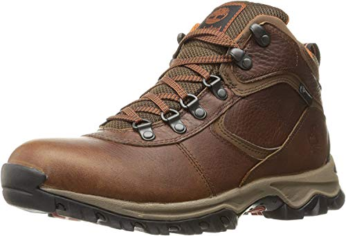 Timberland Men's Mt. Maddsen Mid Leather Wp Ankle Boot, medium brown full grain, 10 Medium US