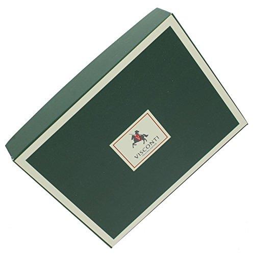 Porta passaporto di pelle. Visconti collezione POLO Blocco RFID 2201 Nero