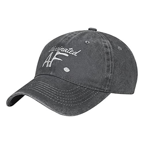 Pro Vaccine - Gorra de béisbol vacunada Af, algodón, ajustable, lavable, sombrero de vaquero de golf