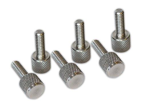 Go Rhino 24173T-1 Knurled Thumb Screw Kit, 6 Piece