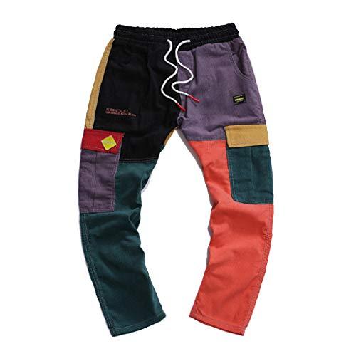 Pantalones de Trabajo de Hombre,Jeans Vaqueros Pantalones Casuales Mod