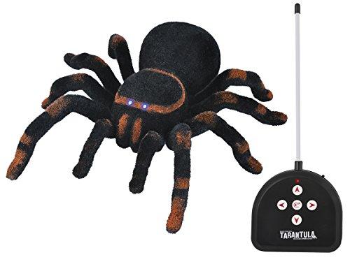 ISO TRADE Ferngesteuerte Spinne ,,Tarantel' 23x25x7,5cm Riesenspinne Lichtaugen Scherzartikel 4503