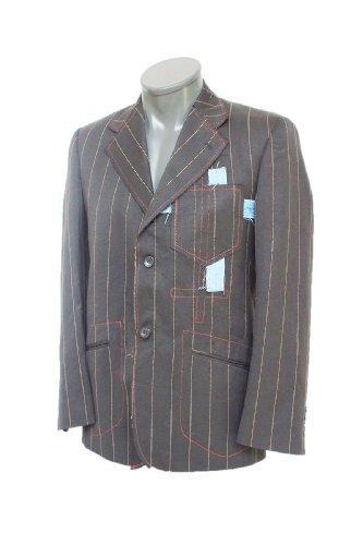 TOP concepteur veste de blazer KILL gris S (004)