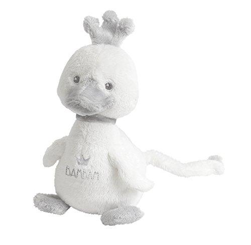 Bam Bam Bam Jouet de bébé unisexe doux Blanc dans une pochette cadeau