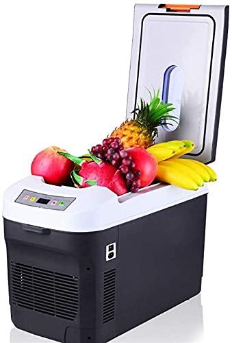 Auoeer Caja De Hielo Congelador De Coches Portátil 22L 12V 24V Coche Refrigerador Refrigerador Caja De Refrigerador Dual Uso Caliente/Frío Caja De Hielo Pequeño Congelador, Camping, Caravanas
