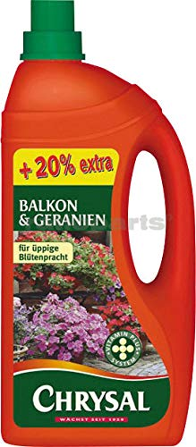Chrysal balkon u.geranien-dünger 1,2l