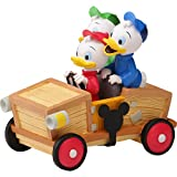 Precious Moments 201707 Disney Collectible Parade Huey, Dewey, and Louie Resin/Vinyl Figurine, One Size, Multicolored