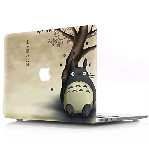 AJYX MacBook Pro 16 Case 2020 2019 Model: A2141, Plastic Hard Case Protective Cover Compatible with MacBook Pro 16 Inch with Retina Display and Touch ID, Totoro DH-21
