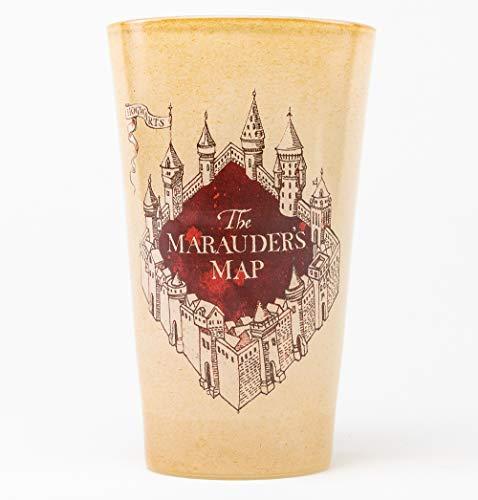 GB Eye, Harry Potter, Marauders Kaart Gekleurd Glas, Groot Gekleurd Glas