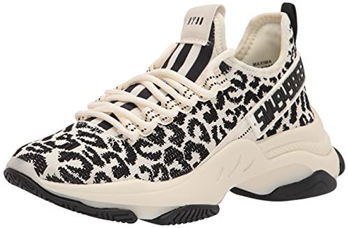 Steve Madden Women's Maxima Sneaker, Leopard, 7.5