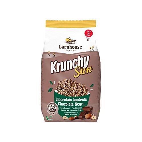 Barnhouse Krunchy Sun Muesli Cereales De Chocolate Negro Y Frutos Secos - Ecológico, Vegetariano - 375 G