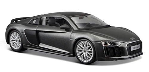 Audi R8 V10 Plus grau Spezial-Edition 1/24 Maisto 31513