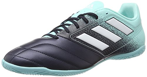 adidas ACE 17.4 In, Zapatillas de Fútbol Hombre, Multicolor (Aquene/Ftwbla/Tinley), 39 1/2 EU/6 UK