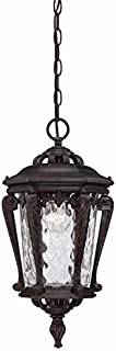 Acclaim 3556ABZ Stratford Collection Outdoor Light Fixture Hanging Lantern, Architectural Bronze