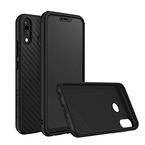 RhinoShield Case Compatible with [Zenfone 5 / Zenfone 5Z]   SolidSuit - Shock Absorbent Slim Design Protective Cover with Premium Matte Finish [3.5M / 11ft Drop Protection] - Carbon Fiber Texture