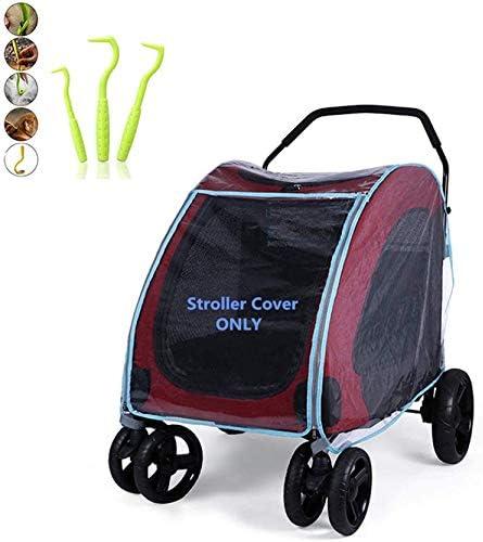 Rain Cover Pet Stroller Rain Cover Cat Dog Stroller Rain Cover Baby Stroller Rain Cover Raincoat product image