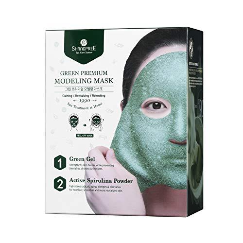Shangpree Green Premium - Mascarilla de modelado