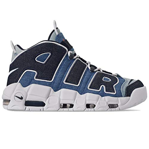 Nike heren Sneaker Air More Uptempo '96 stof jeans CJ6125-100