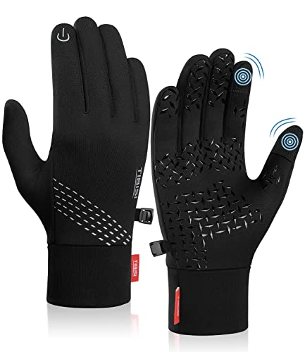 TANSTC Touchscreen Handschuhe Herren Damen, Laufhandschuhe Fahrradhandschuhe Skihandschuhe Damen Herren, Sport Elastisch Leicht Atmungsaktiv Outdoor Gloves Motorrad Fahrrad Camping Wandern Bergsteigen